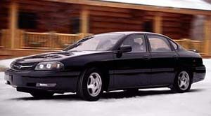 2001 chevrolet impala specifications car specs auto123. Black Bedroom Furniture Sets. Home Design Ideas