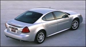 2004 pontiac grand prix specifications car specs auto123. Black Bedroom Furniture Sets. Home Design Ideas