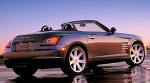 chrysler crossfire 2007 fiche technique auto123. Black Bedroom Furniture Sets. Home Design Ideas