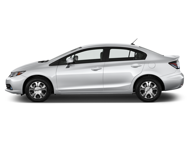 0.99% lease rate to a  2014 Honda Civic Hybrid for 24 months