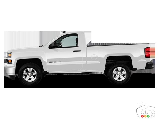 2015 Chevrolet Silverado 1500 4WD Regular Cab Standard Box