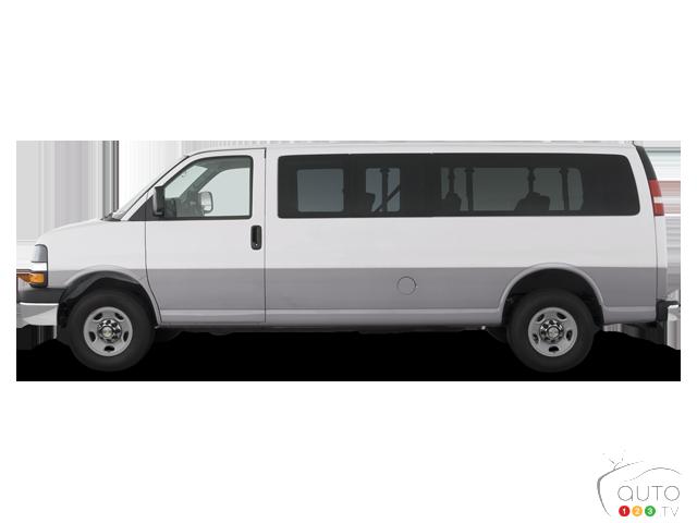 2016 Chevrolet Express Passenger 2500