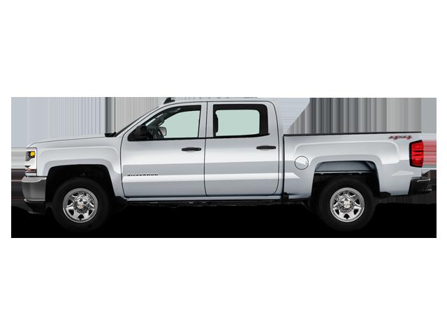 Chevrolet Silverado 1500 2RM Cabine multiplace boîte régulière 2017