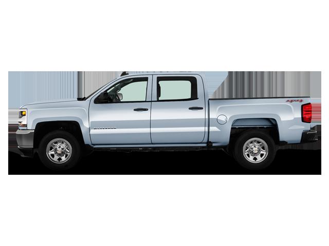 Chevrolet Silverado 1500 2RM Cabine multiplace boîte courte 2017