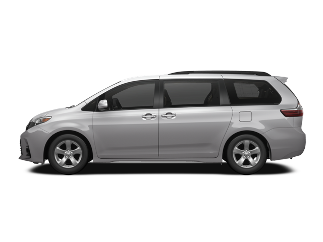 Lease or finance the 2018 Toyota Sienna LE V6 AWD 7-Pass from 2.49%