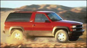 Tahoe 4WD 2-dr
