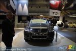 Volkswagen presents the 2009 Touareg TDI at the Montreal Auto Show
