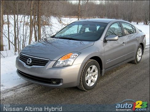 Nissan Altima Hybrid 2009 2009 Nissan Altima Hybrid 001