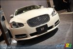 2010 Jaguar XKR and XFR leap in Toronto