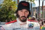 Need for Speed : Keanu Reeves Wins Celebrity Category of 2009 Toyota Pro/Celebrity Race