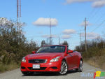 2009 Infiniti G Convertible G37 Sport M6 Review (video)
