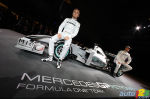 F1: Launch of the new Mercedes GP car