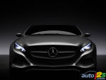 Mercedes-Benz F 800 Style : Intelligent display concept focusing on electric driving