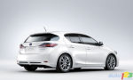 Zoom on the all-new Lexus CT 200h