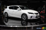 2010 New York Autoshow: Lexus CT 200h, 2010 IS 350C F-Sport