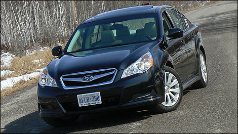 2010 subaru legacy 3 6r limited review video editor 39 s review car news auto123. Black Bedroom Furniture Sets. Home Design Ideas