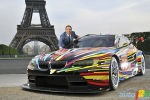 BMW unveiled Jeff Koons' BMW Art Car in Paris