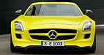 Mercedes-Benz SLS AMG E-CELL: the zero-emission gullwing