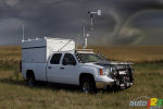Tornado-Resistant Truck Built by A.R.E. for the 'Storm Chasers'!