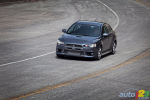 2010 Mitsubishi Lancer Evolution Track Test