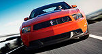 Ford adds TracKey for the 2012 Mustang Boss 302, wants you to choose the red key