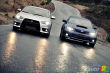 2010 Mitsubishi Lancer Evolution, 2011 Subaru Impreza WRX STI 4-door