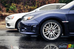 2010 Mitsubishi Lancer Evolution vs 2011 Subaru WRX STI (video)