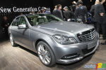 Detroit 2011: Sneak Peek at Mercedes' 2012 C-Class