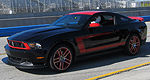 Mustang Boss 302 inboard laps of Laguna Seca (video)
