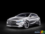 Mercedes-Benz A-Class Concept from outer space