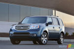 2012 Honda Pilot gets updated cabin, sips less fuel