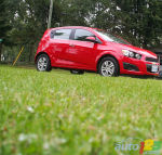 2012 Chevrolet Sonic First Impressions