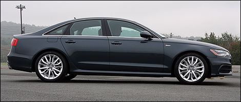 2012 Audi A6 right side view