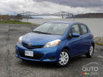 2012 Toyota Yaris Hatchback First Impressions