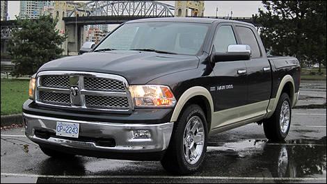 2011 Ram 1500 Laramie Crew Cab 4x4 Review Boulevard