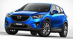 The 2013 Mazda CX-5 will go on sale in February starting at $22,995