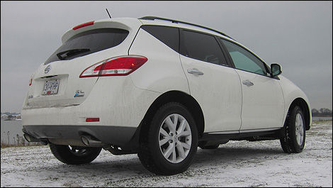 2012 Nissan Murano SL 3/4 rear view