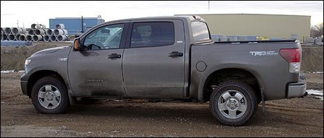 2012 Toyota Tundra CrewMax 4x4 SR5 5.7L left side view