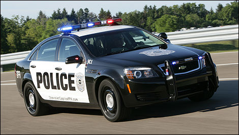 Chevrolet Caprice PPV 3/4 front view