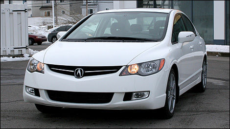 2008 Acura CSX Type-S front 3/4 view