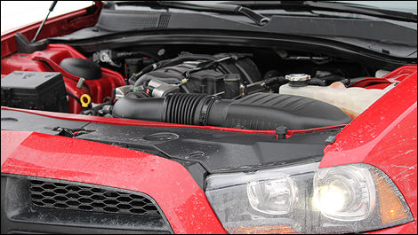 2012 Dodge Charger R/T engine