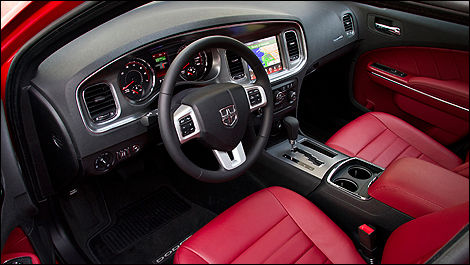 2012 Dodge Charger R/T interior
