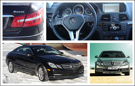 2012 Mercedes-Benz E 350 Coupe 4MATIC