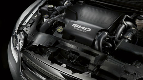 2013 Ford Taurus SHO engine