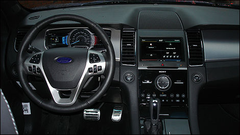 2013 Ford Taurus SHO interior