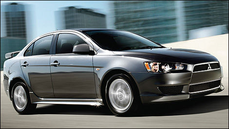 2012 Mitsubishi Lancer SE AWC right side view