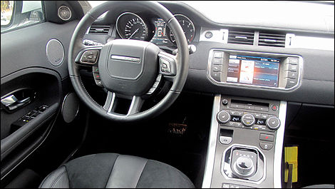 2012 Range Rover Evoque Pure interior