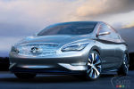 Infiniti LE Concept - A Vision of Zero Emission Luxury Revealed at New York Auto Show