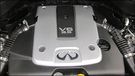 2012 Infiniti FX35 Limited Edition engine
