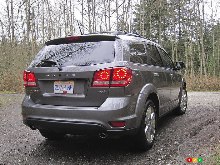 2012 Dodge Journey R T Awd Car News Auto123